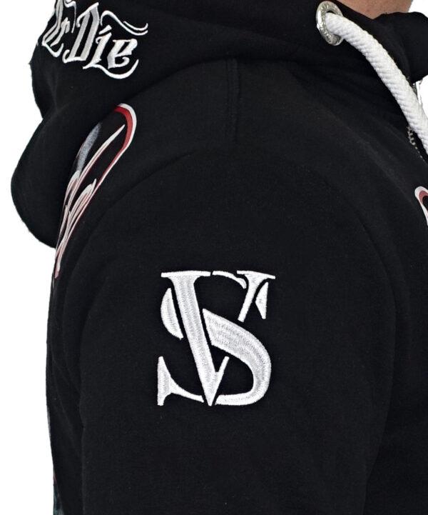 Vipeside Sweat-Jacke SWJ-01 black