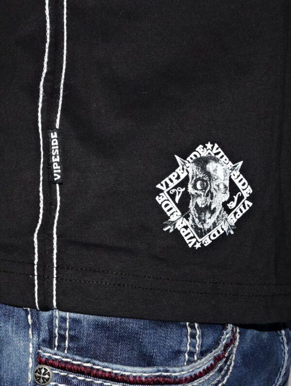 "Vipeside T-Shirt ""Death Tee"" TS-18 black"