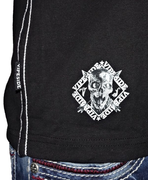 "Vipeside T-Shirt ""Clown of Fear"" TS-24 black"