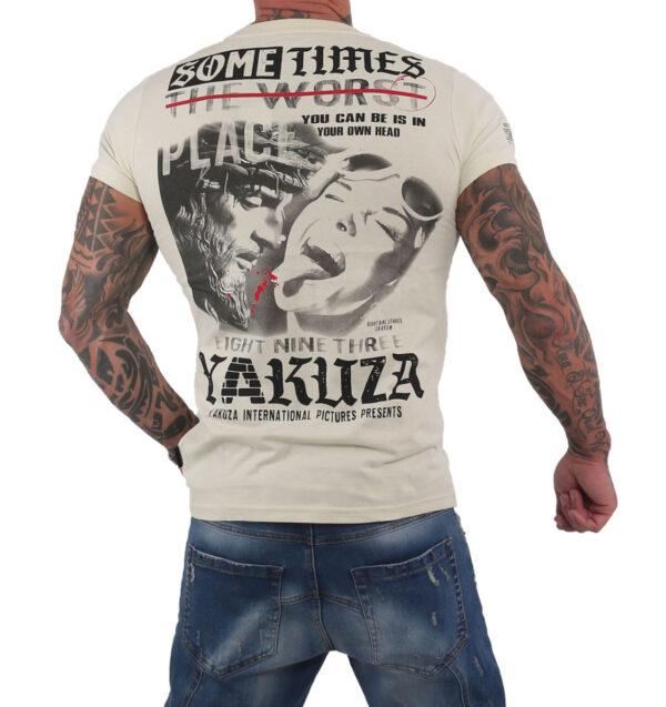 Yakuza Sometimes T-Shirt TSB-15026 bone white