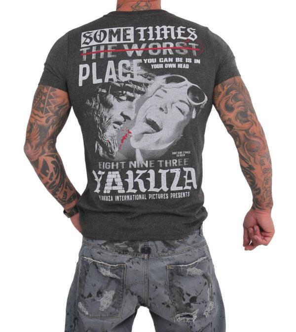 Yakuza Sometimes T-Shirt TSB-15026 grey