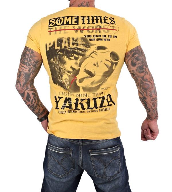 Yakuza Sometimes T-Shirt TSB-15026 pale banana