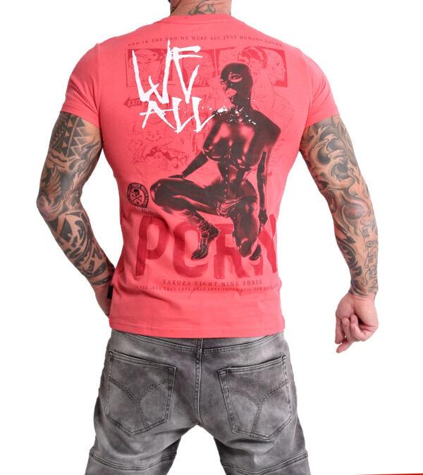 Yakuza Porn T-Shirt TSB-15030 geranium
