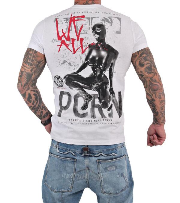 Yakuza Porn T-Shirt TSB-15030 weiß