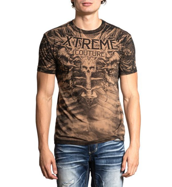 Xtreme Couture T-Shirt X-1928 schwarz