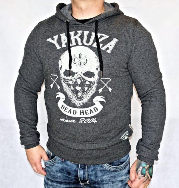 Yakuza Hoodie HOB-10069 dark grey