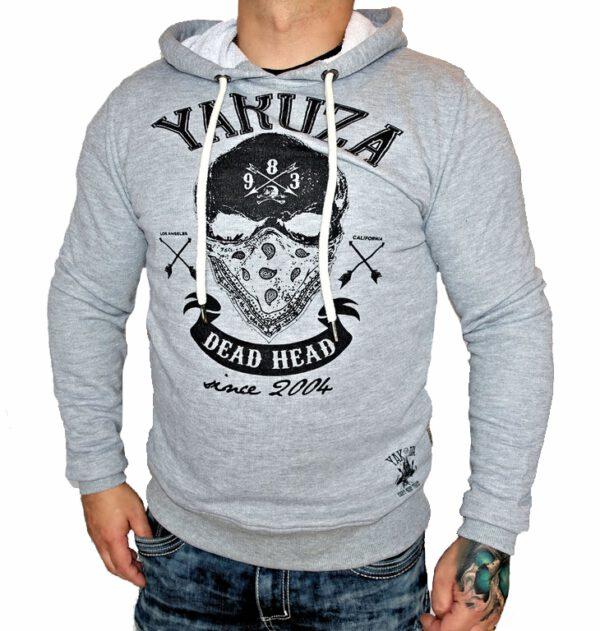 Yakuza Hoodie HOB-10069 grey