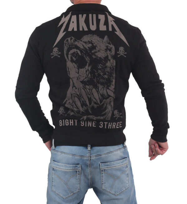Yakuza Beast Trainingsjacke ZB-14019 black