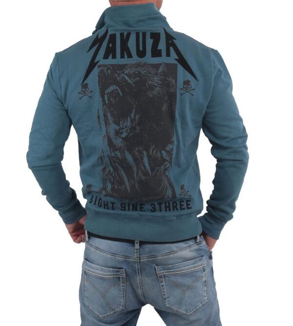 Yakuza Beast Trainingsjacke ZB-14019 blau