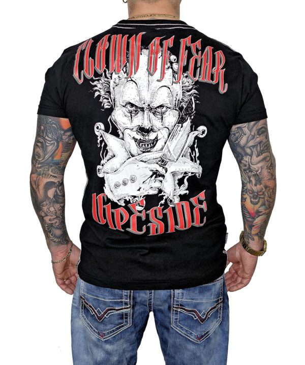 "Vipeside T-Shirt ""Clown of Fear"" TS-24 black"