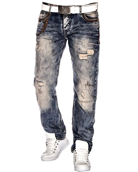 Cipo & Baxx Herren Jeans CD-493