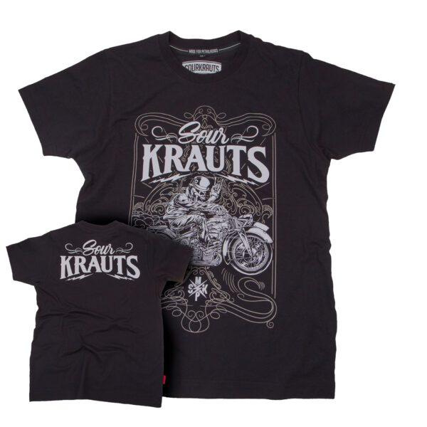 Sourkrauts-T-Shirt-Drako-schwarz