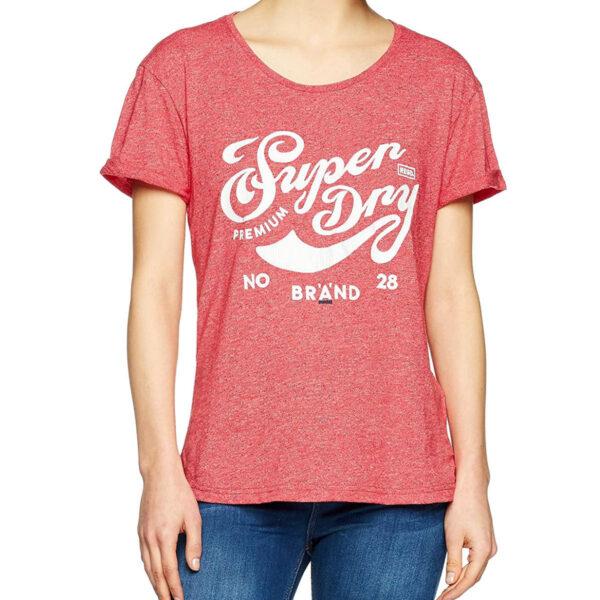 Superdry Damen T-Shirt G10002HP rebel re