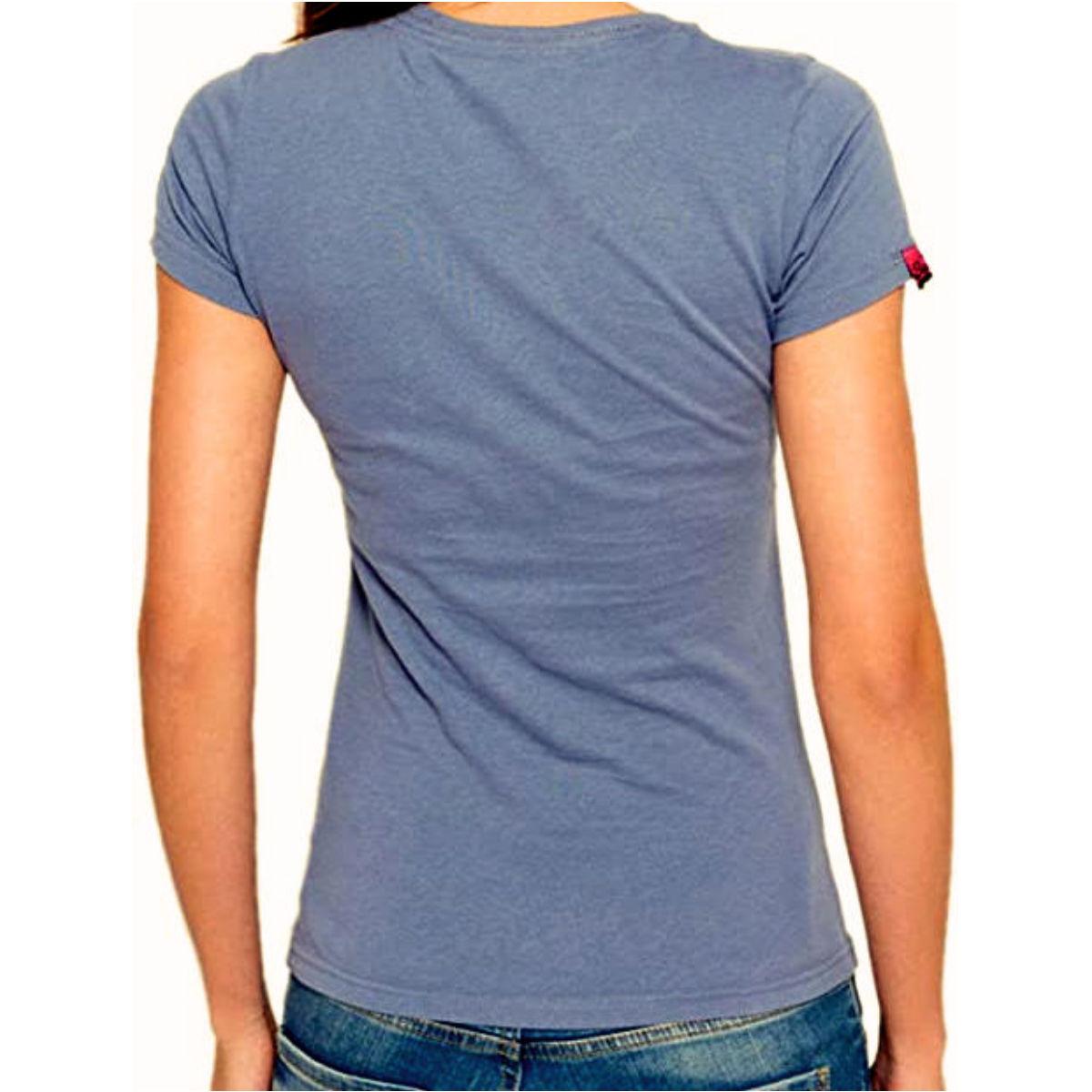 Superdry Damen T-Shirt G10003HO blue