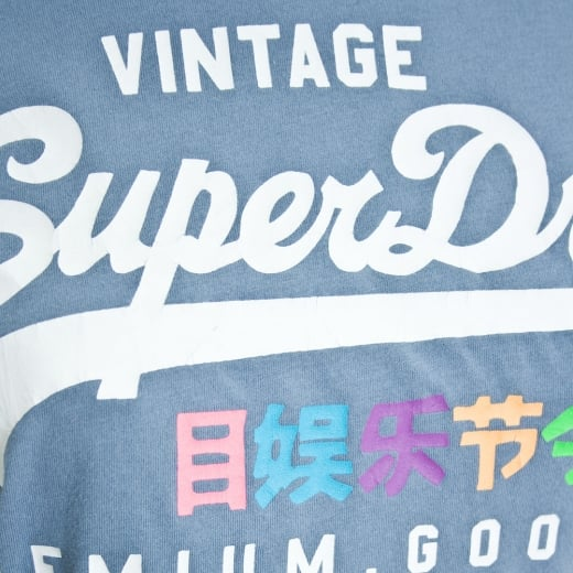 Superdry Damen T-Shirt G10003HO blue