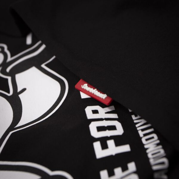Sourkrauts-T-Shirt-Wolt-schwarz