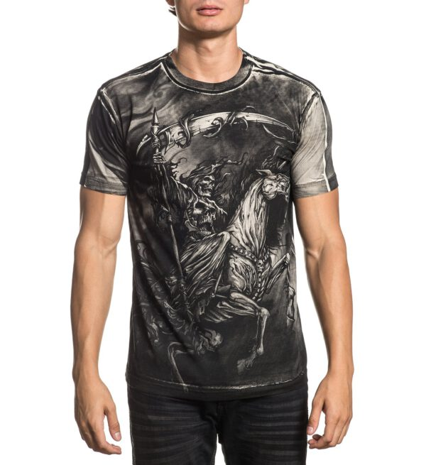Xtreme Couture T-Shirt dark horse X-1798 grey/black