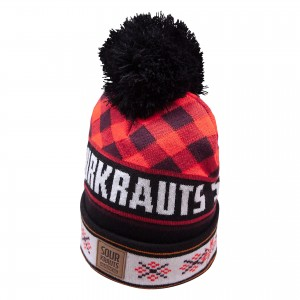 Sourkrauts BOBBLEHAT 2019-20 RED BLACK