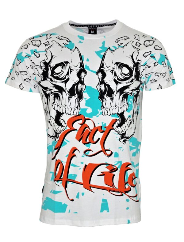 "Fact of Life T-Shirt TS-34 ""Destruction"" weiß"