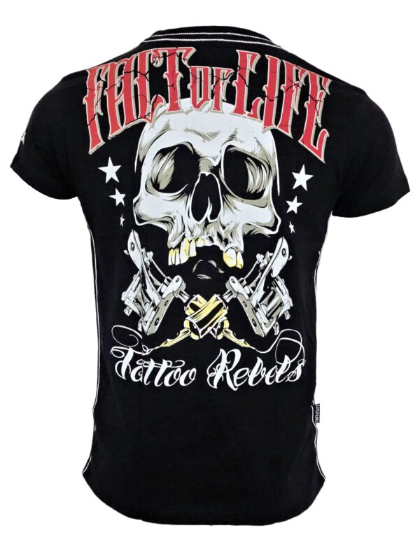 Fact of Life T-Shirt TS-32 Tattoo Rebels black.
