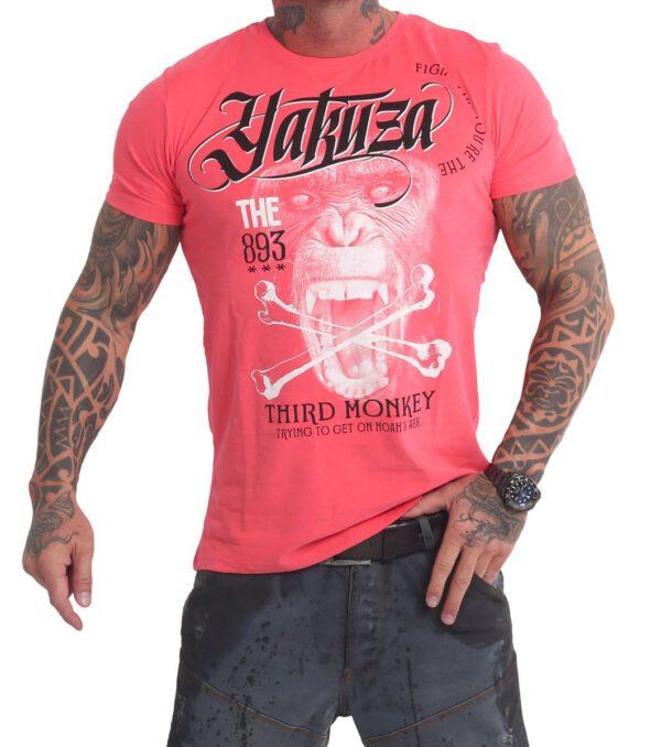 Yakuza Third Monkey T-Shirt TSB 16031 geranium