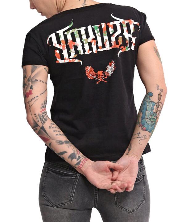 Yakuza Angel Box Fit T-Shirt GSB-16133 schwarz
