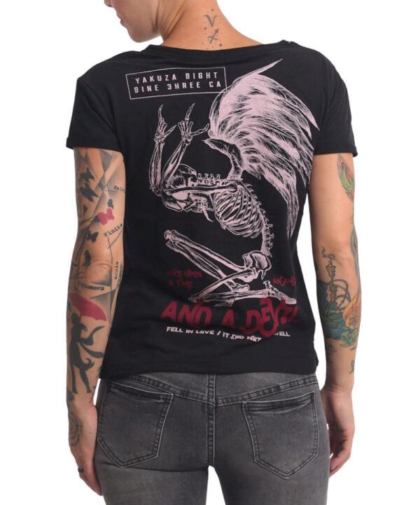 Yakuza End Well Box Fit T-Shirt GSB-16136 black