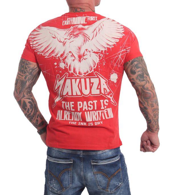 Yakuza Dry Ink T-Shirt TSB-16026 rot