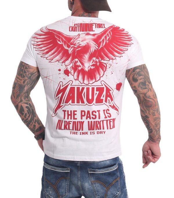 Yakuza Dry Ink T-Shirt TSB-16026 weiß