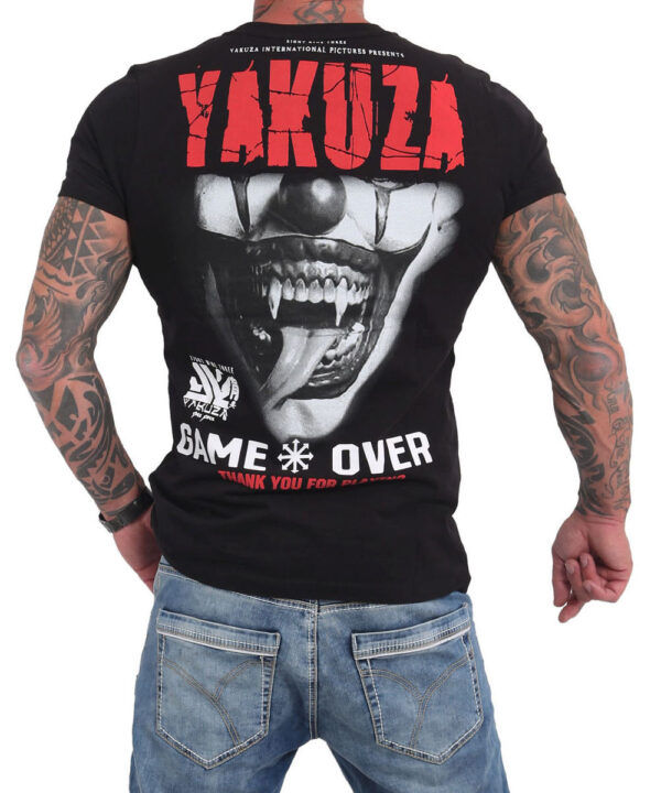 Yakuza Game Over T-Shirt TSB-16088 black