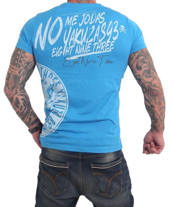 Yakuza Jodas T-Shirt TSB-17024 malibu blue