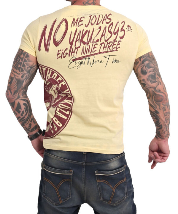 Yakuza Jodas T-Shirt TSB-17024 pale banana