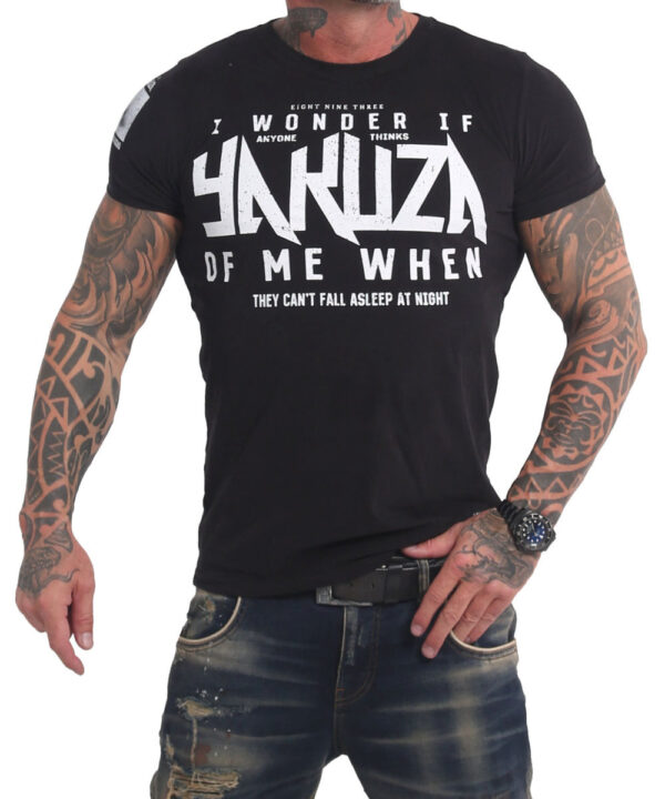 Yakuza Anyone T-Shirt TSB-17027 black