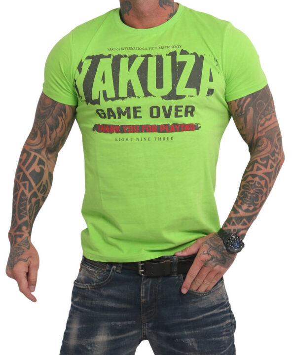 Yakuza Hating Clown T-Shirt TSB 17029 jasmin green