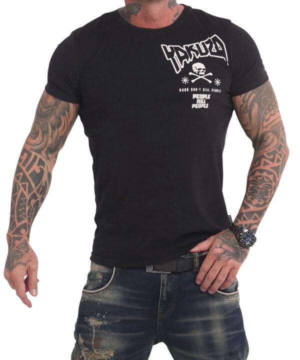 Yakuza Guns vs People T-Shirt TSB-17038