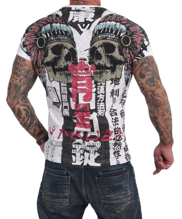 Yakuza Sick Nippon V02 T-Shirt TSB-17061 weiß