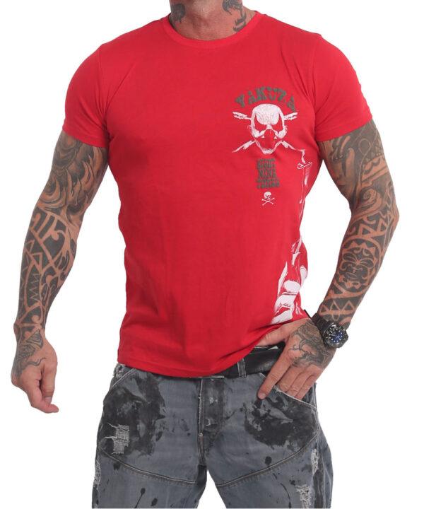 Yakuza Duel The Clown T-Shirt TSB-17067 rot
