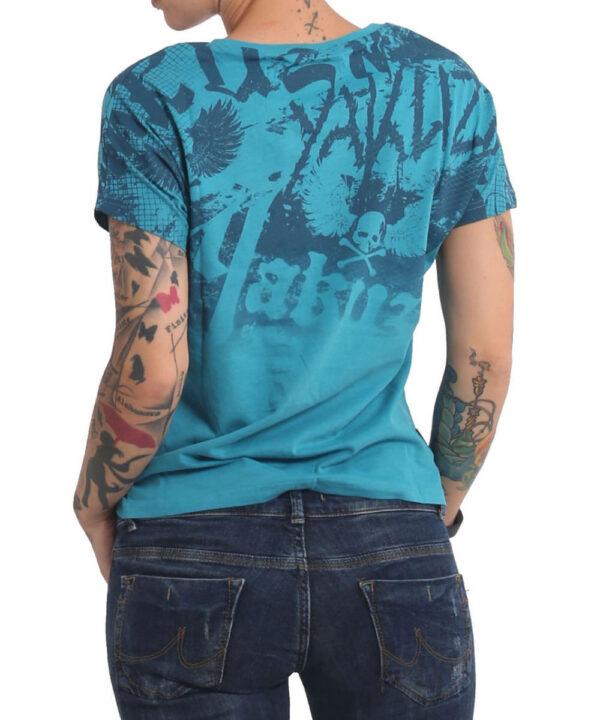 Yakuza 893Allover T-Shirt GSB 16130 biscay bay