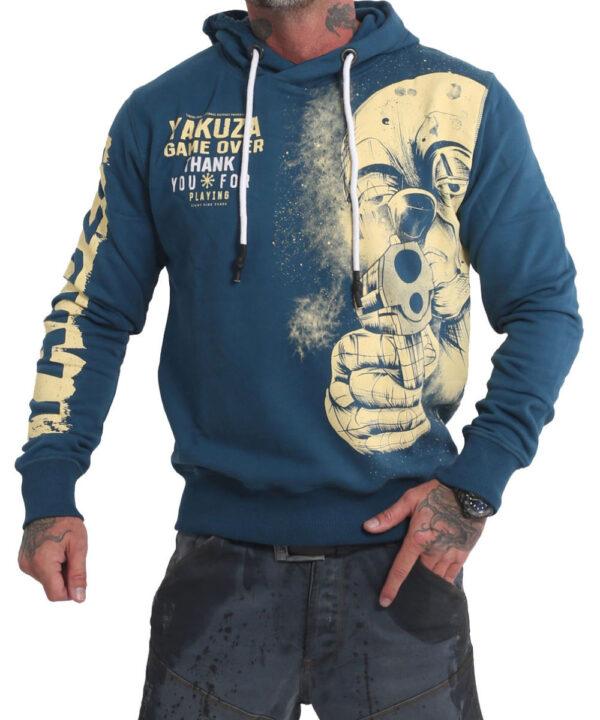 Yakuza Hating Clown Hoodie HOB-17002 mallard blue