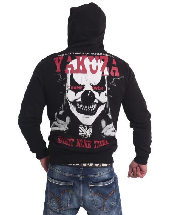 Yakuza Sweat-Jacke Duel The Clown Ninja HZB 17065 schwarz