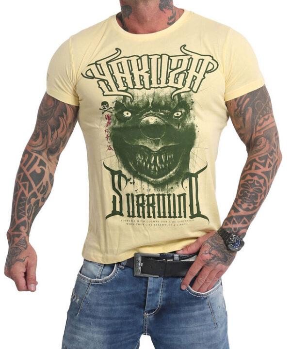 Yakuza Surround T-Shirt TSB-16025 pale banana