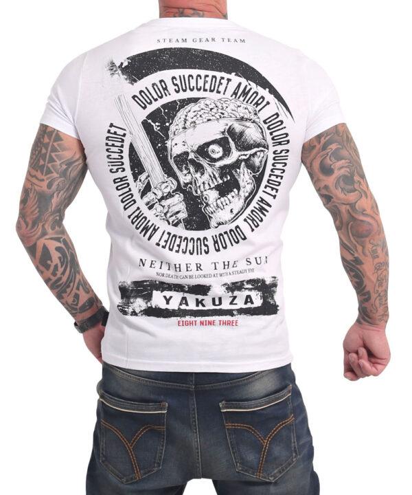 Yakuza Neither The Sun T-Shirt TSB-17037 weiß